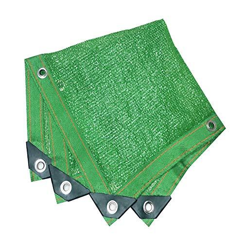 Filet d'ombrage, auvents, Filet Solaire, écran de Protection Solaire, voiles de bâche de Tente de Tente pour auvent, appropriées à la Protection Anti-UV, grandeurs Multiples, Vert (Taille : 5 * 15M)