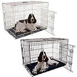 Jaula para Perros Negra 63x44x52(alt)