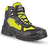 Aimont Angel Sicherheits-Stiefel S3 SRC EN ISO 20345 schwarz gelb | 43