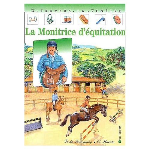 La monitrice d'équitation