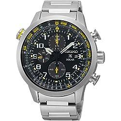 Mens Seiko Prospex Chronograph Solar Powered Watch SSC369P9