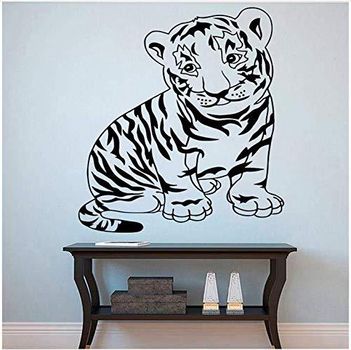 inder Wütend Wandtattoo Tier Serie Home Art Deco Vinyl Wandaufkleber Kinderzimmer Jungen Zimmer Aufkleber 60x82cm ()