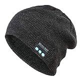 Skang Bluetooth Wireless Warm Beanie Hat Freisprecheinrichtung Musik Cap Kopfhörer Headset Weihnachten Mütze Schal Kappe Beanie