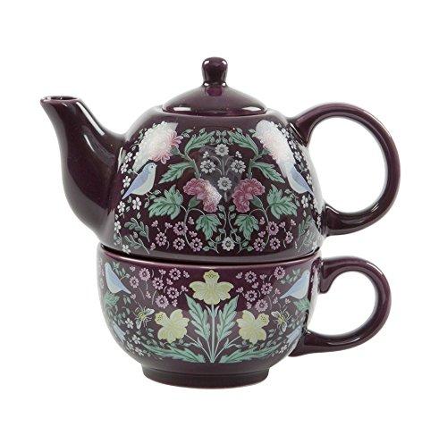 And Crafts Arts Home Stile (Sass & Belle Midnight Garden Tea for One Tee-Set William Morris Arts & Crafts Stil)