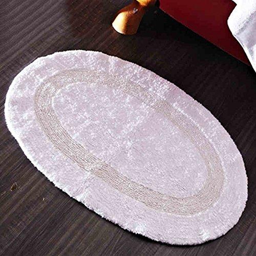 100% cotone tampone assorbente ispessimento Albergo pad antiscivolo zerbini Bagno (100% Cotone Tamponi)