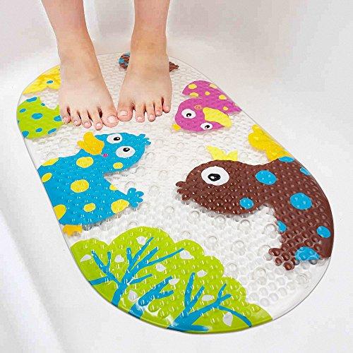 Wanneneinlage Anti-Rutsch Badematte BliGli PVC Karikatur Entwurf Massage Badematte mit Saugnäpfen für Baby Kinder