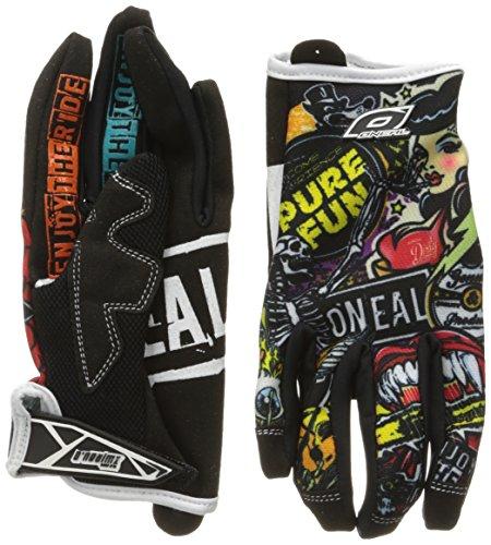 O\'neal Jump Crank MX DH FR Handschuhe, Schwarz, M