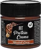 nu3 Fit Protein Crème 200g - Pâte à tartiner sans huile de palme goût Chocolat Noisettes - Pâte à tartiner protéinée végétarienne avec 21% de protéines - Sans sucre ajouté et sans gluten...