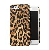 Leopard Fur Pattern Dünne Handy Schutzhülle Hardcase Aus Hartplastik Hülle für iPhone 7 / iPhone 8 Case Cover