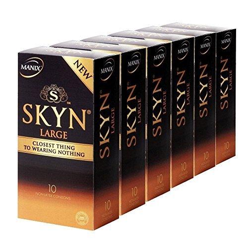 Manix SKYN LARGE 60 (6x10) latexfreie XXL Kondome - Vorteilspack!
