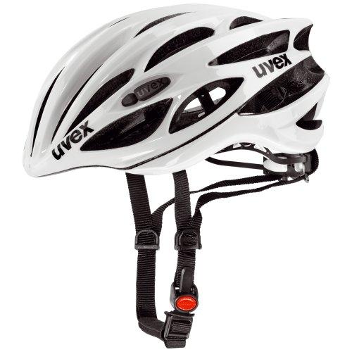 Uvex Fahrradhelm Race 1, White, 51-55, 4101701115
