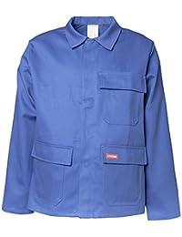"""Planam Jacke """"Hitze-/Schweißerschutz"""", 400 g/m², Größe 54, kornblau, 1706054"""