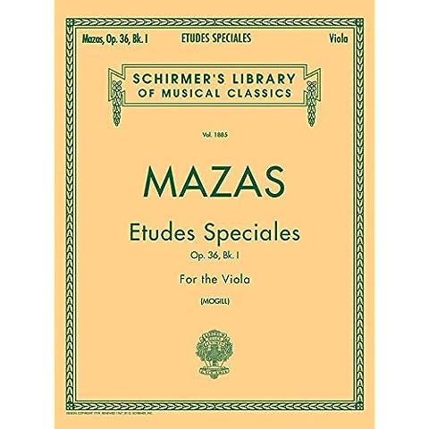 Etudes Speciales, Op. 36: Viola Method: 1