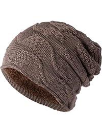Clothing, Shoes & Accessories Atlantis A Coste Lavorato A Maglia Cappellino Invernale Lanoso Cappello