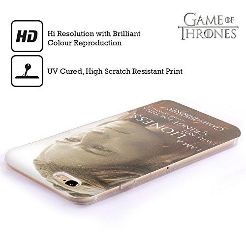 Offizielle HBO Game Of Thrones Daenerys Targaryen Character Portraits Soft Gel Hülle für Apple iPhone 6 / 6s Cersei Lannister
