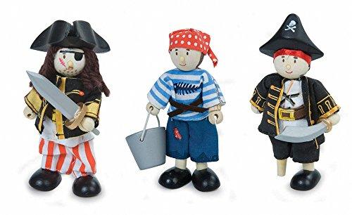 Le Toy Van BK909 Budkins Geschenkset Piraten