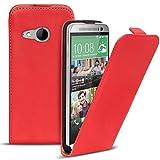 Flip Case HTC One Mini 2 Hülle Pu Leder Klapphülle Handy