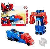 Hasbro Transformers C0648ES0 - Robots In Disguise 1-Step Changers Optimus Prime, Actionfigur
