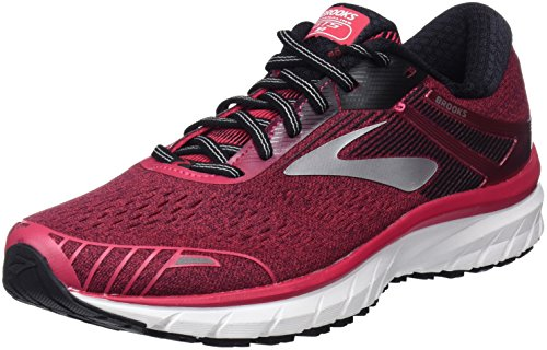 Brooks Damen Adrenaline Gts 18 Laufschuhe, Pink/Black/White 1b619), 38 EU