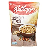 Kellogg's Crunchy Muesli with Chocolate, 600 gm Multi Color