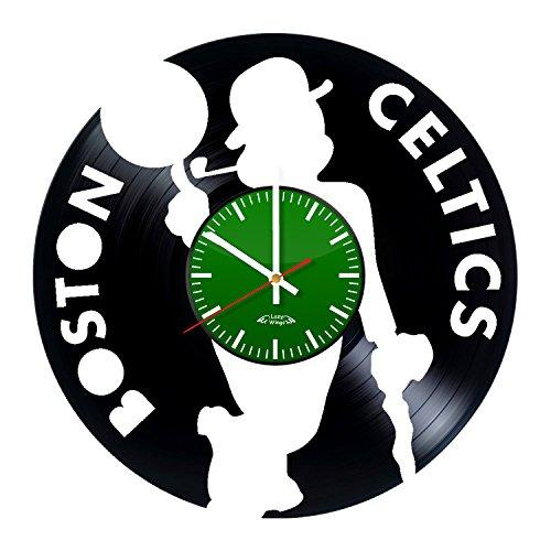 Lazy Flügel NBA Team Logo Design Vinyl Schallplatte Wanduhr-Geschenk Idee für Seine-Modernes Schlafzimmer Art Wand Dekoration - Nba-team Iphone