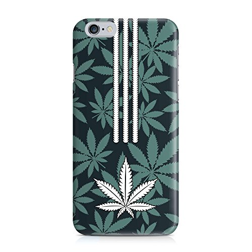 Cover WEED CANNABIS Streifen Handy Hülle Case 3D-Druck Top-Qualität kratzfest Apple iPhone 6 / 6S