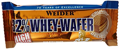 Weider Whey Wafer Bar, Haselnuss, 24 x 35 g (1 x 840 g)