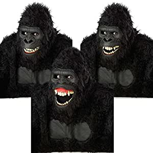 Masque Articulé Gorille adulte