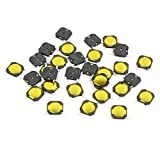 30 pcs 5 mmx5mmx0.8 mm 4 SMD Momentary Tact Taktile Micro Schalter