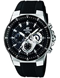 Casio Edifice – Herren-Armbanduhr mit Analog-Display und Resin-Armband – EF-552-1AVEF