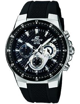 Casio Edifice – Herren-Armbanduhr mit Analog-Display und Resin-Armband – EF-552-1AVEF