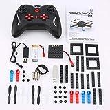 laonBonnie L222 Mini Micro RC RC Baustein 3D Ziegel Quadcopter Drohne Flugzeug UAV mit Flips Headless Modus DIY für Anfänger Geschenk