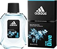 Ice Dive by Adidas - perfume for men - Eau De Toilette, 100ml