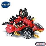 VTech - Braxor, Le Méga Stégosaure Switch & Go Dinos, Voiture/Dinosaure, jouet dinosaure