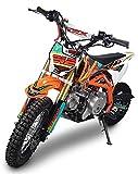 Minicross Motore 4 Tempi 70cc NCX Moto TRX Arancione