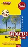 Falk Autoatlas Plus Deutschland 2003/2004