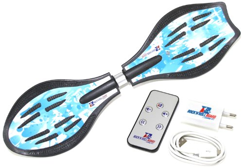 MAXOfit Waveboard Original Rock'n'roll Board Swing, Blau, RB-001