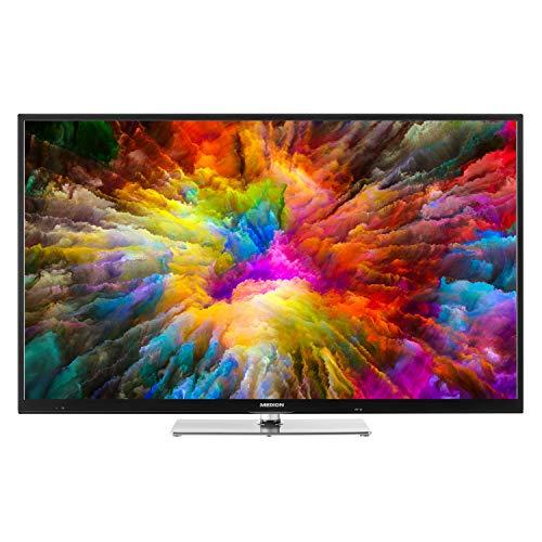 MEDION X14321 108 cm (43 Zoll) UHD Fernseher (Smart-TV, 4K Ultra HD, Dolby Vision HDR, Triple Tuner, DVB-T2 HD, Netflix App, PVR, Bluetooth)