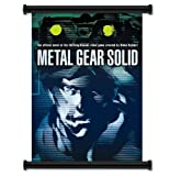 Metal Gear Solid Game Fabric Wall Scroll Poster (16 x 22) Inches