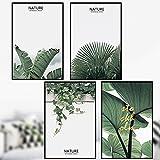 Adesivi Murali Foglie Verdi Tropicali Foglie Camera Da Letto Letteratura Calda Dormitorio Romantico Decorazione Semplice Nordic Wall Stickers Fresh