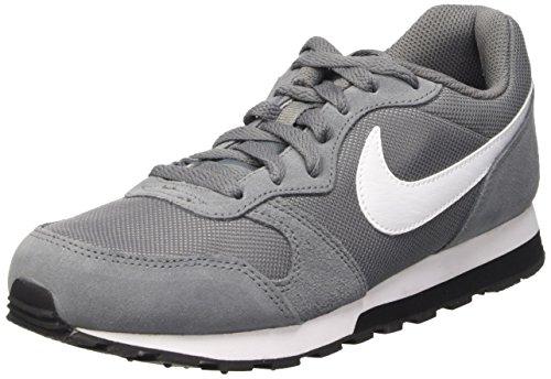 Nike Jungen MD Runner 2 (GS) Laufschuhe, Grau (Cool Grey/White/Black 002), 37 1/2 EU