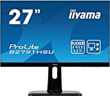 iiyama Prolite B2791HSU-B1/27 TN 1MS LED Display 68,6 cm (27') Full HD Mat Noir - Écrans Plats de PC (68,6 cm (27'), 1920 x 1080 Pixels, Full HD, LED, 1 ms, Noir)