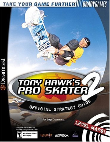Tony Hawk's Pro Skater 2 Official Strategy Guide for Dreamcast