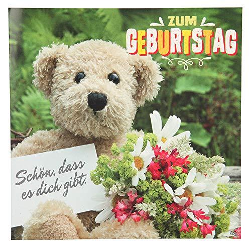 ückwunschkarte mit Musik, Geburtstag, Mehrfarbig ()