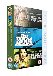 The Bridge on the River Kwai/Das Boot/The Guns of Navarone [DVD]