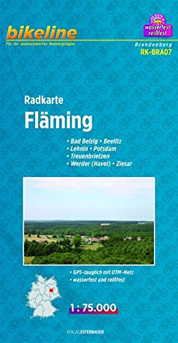 Flaming Cycle Map 2012 por Esterbauer