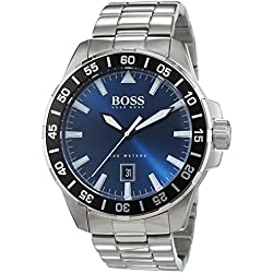 Hugo Boss men's Quartz Watch Analogue Display and Stainless Steel Strap 1513230