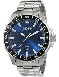 Hugo Boss Herren-Armbanduhr Analog Quarz Edelstahl 1513230