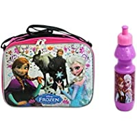 Disney Frozen Insulated Soft Lunch Bag Featuring Elsa, Anna, Olaf, Kristoff & Sven Bonus Water Bottle Included by Disney preisvergleich bei kinderzimmerdekopreise.eu