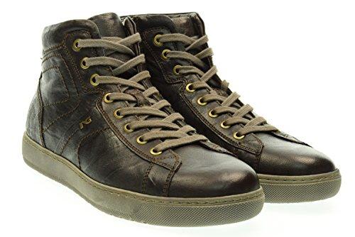 NERO GIARDINI uomo sneakers alte A604360U/300 Marrone